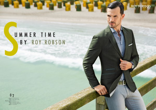 Making Of Roy Robson Spring/Summer Campaign  Tim Thiel
