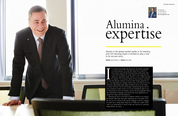 CEO magazine Tim Thiel
